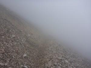 Mein privater ZUgspitzlauf - in den Wolken