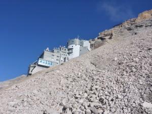 Mein privater Zugspitzlauf - die Wetterstation an der Zugspitze