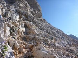Mein privater Zugspitzlauf - Steig am Gipfel