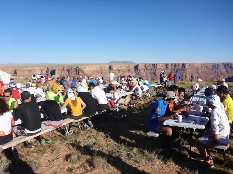 Abendessen am Grand Canyon