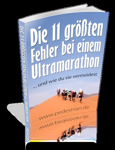 Die 11 größten Fehler bei einem Ultramarathon - eBook Cover