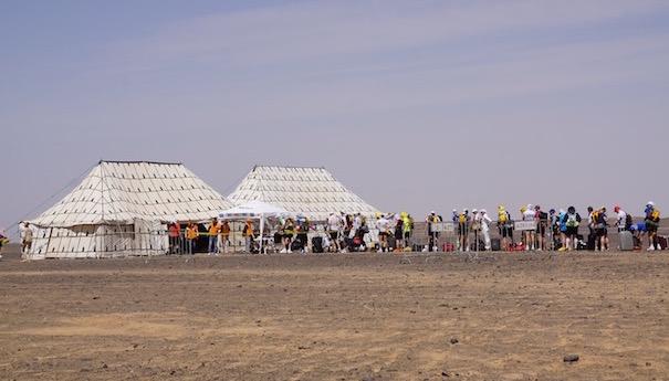 Zurück im großen Sandkasten - Materialcheck - Marathon des Sables