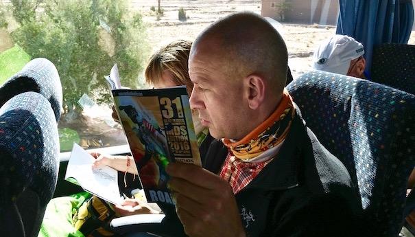 zurück im großen Sandkasten - Roadbook - Marathon des Sables