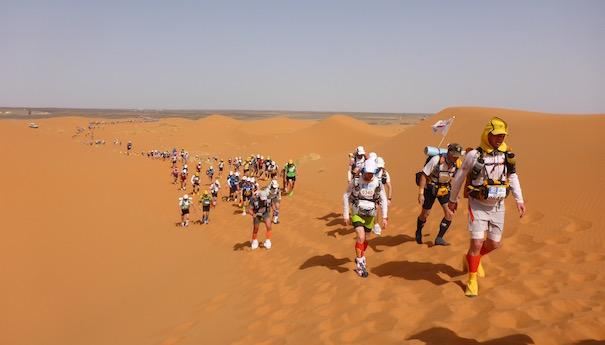 Zurück im großen Sandkasten - Dünenimpression - Marathon des Sables