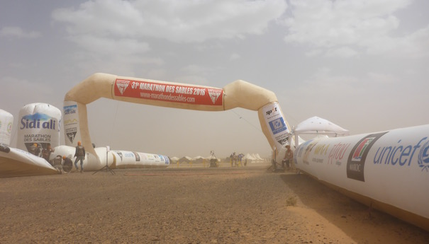 Zurück im großen Sandkasten - Finish line - Marathon des Sables