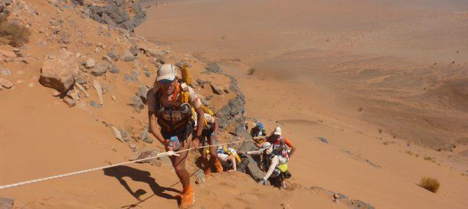Die lange Etappe beim Marathon des Sables
