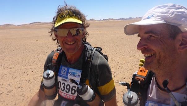 Die Marathonetappe beim Marathon des Sables - Markus aus der Schweiz