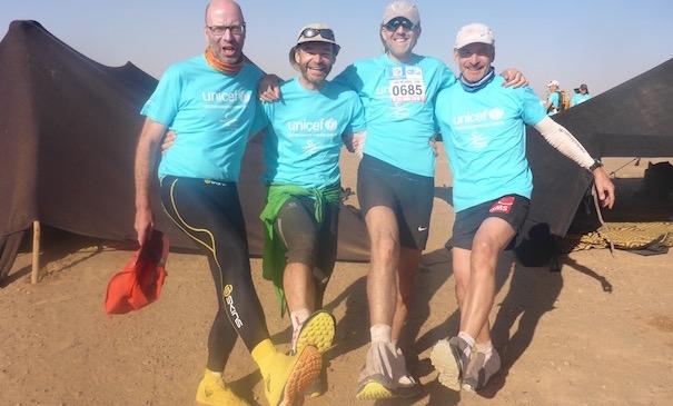 Die Unicef Etappe beim Marathon des Sables - Die Helden von Zelt 20