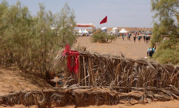 Die Unicef Etappe beim Marathon des Sables - die letzten Meter zum Ziel