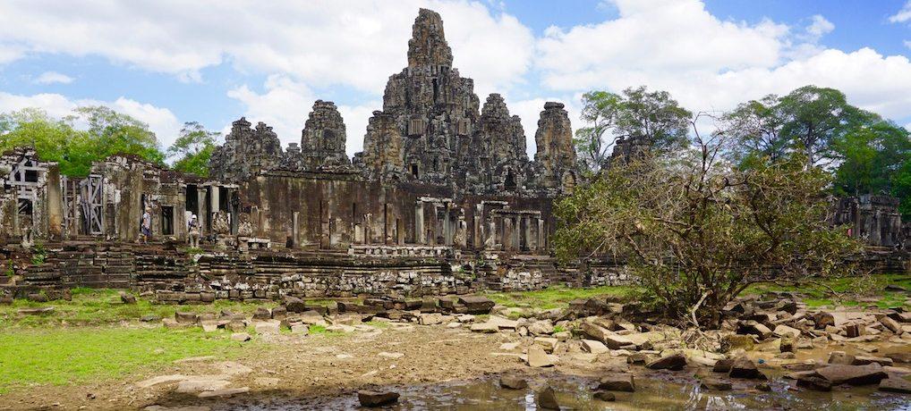 Ultratrail Angkor Wat in Kambodscha